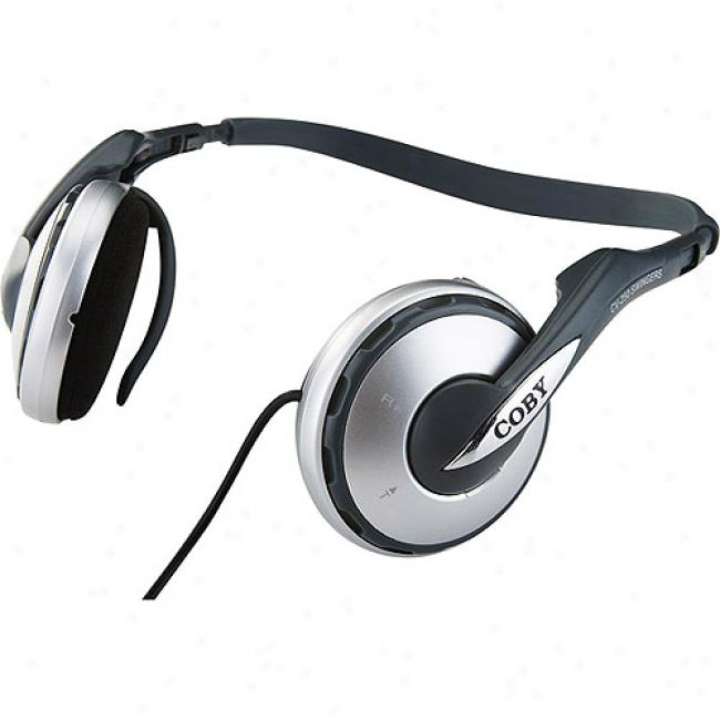 Coby Convertible Sports Neck-band Headphones, Cv250