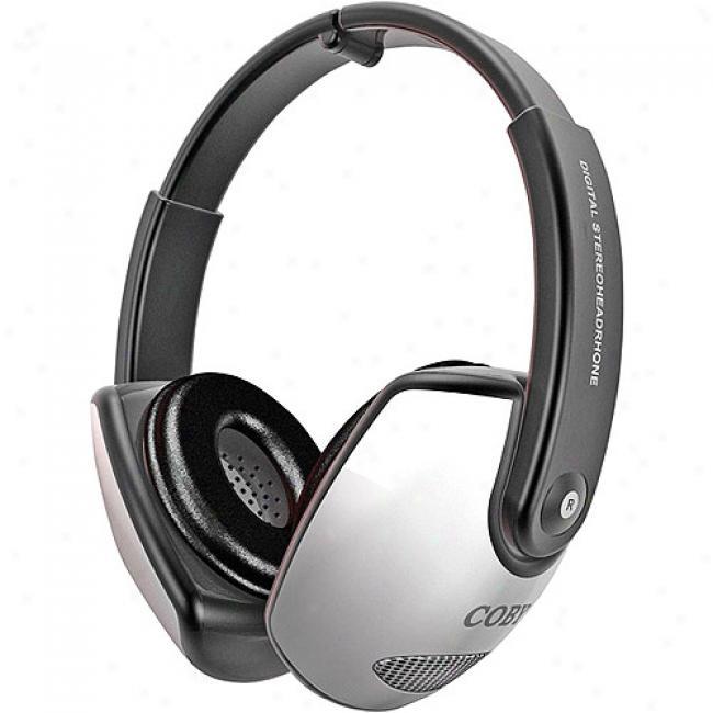 Coby Deep Bass Stereo Headphones, Cv-163