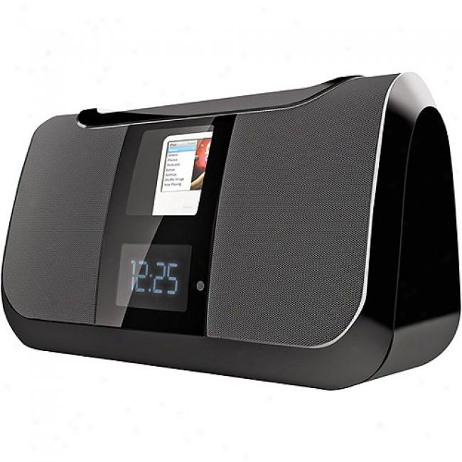 Cobu Digital Boombox With Motorized Ipod Dock Anx Am/fm Radio, Cs-mp165