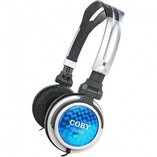 Coy Folding Deep Baes Stereo Headphones, Cv180