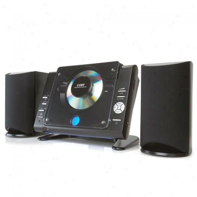Coby Micro Cd Stereo Shelf Syetem