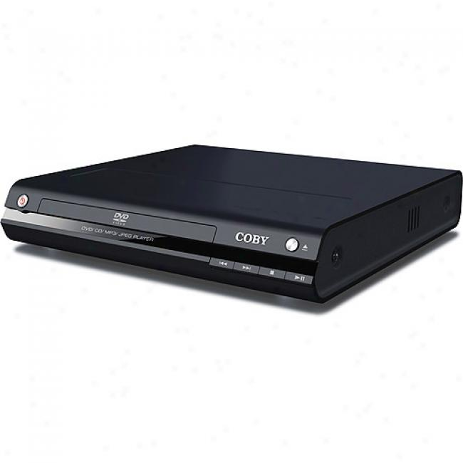 Coby Progressive Scan Dvd Player, Dvd-233