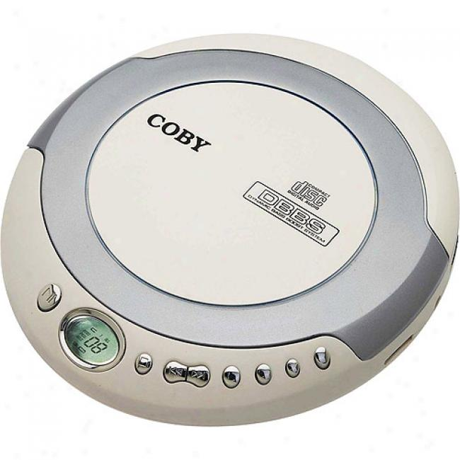 Coby Slim Personal Cd Player With Am/fm Tuner