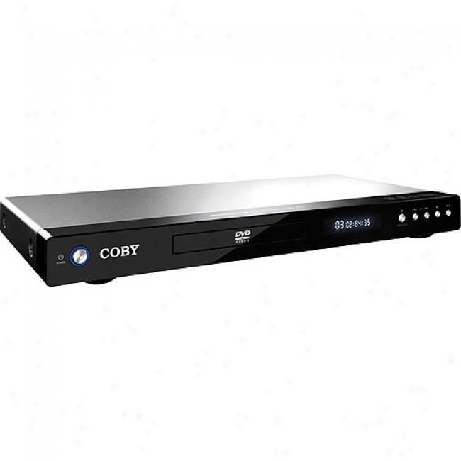 Coby Super-slim Up-conversion Dvd Player With Hdmi Output