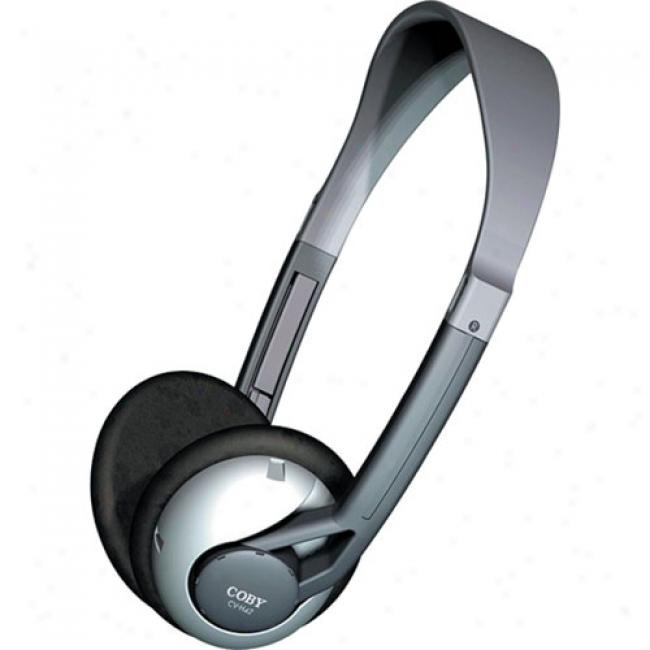 Coby Ultra-lightweight Stereo Headphones