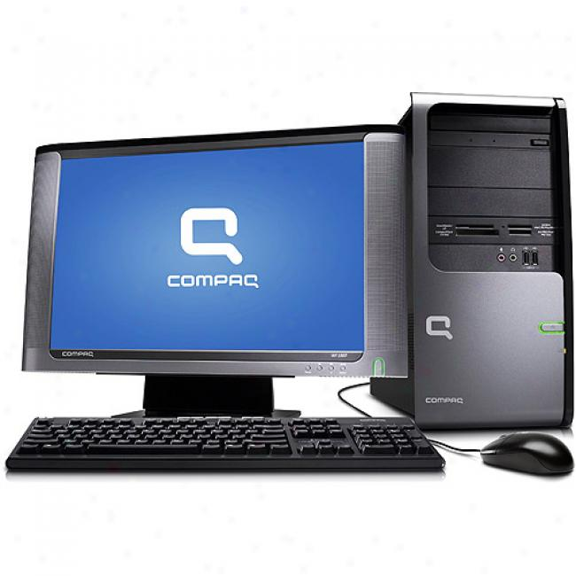 Compaq Presario Sr5633wm-b Desktop Pc W/ Intel Pentium Dual-core Processor E2200