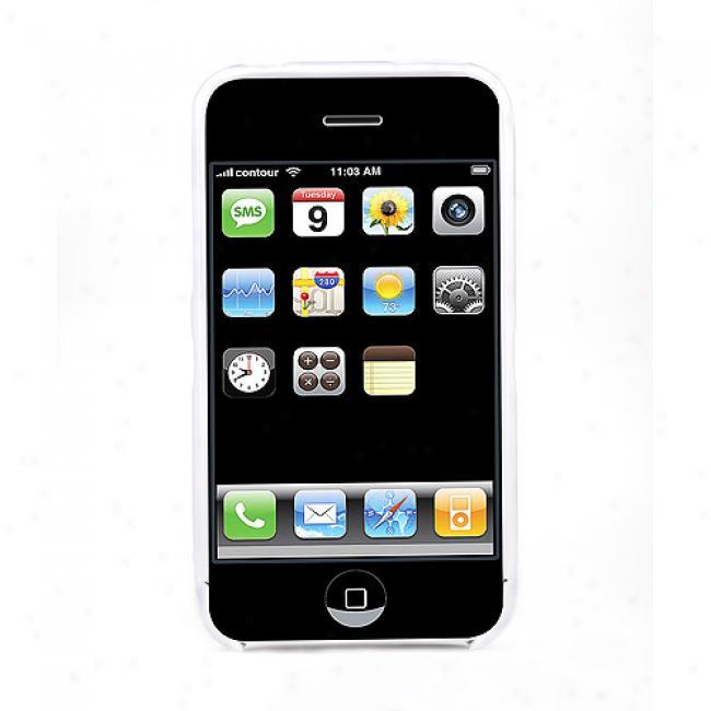 Contour Design Foick Case For Iphone 3g, White