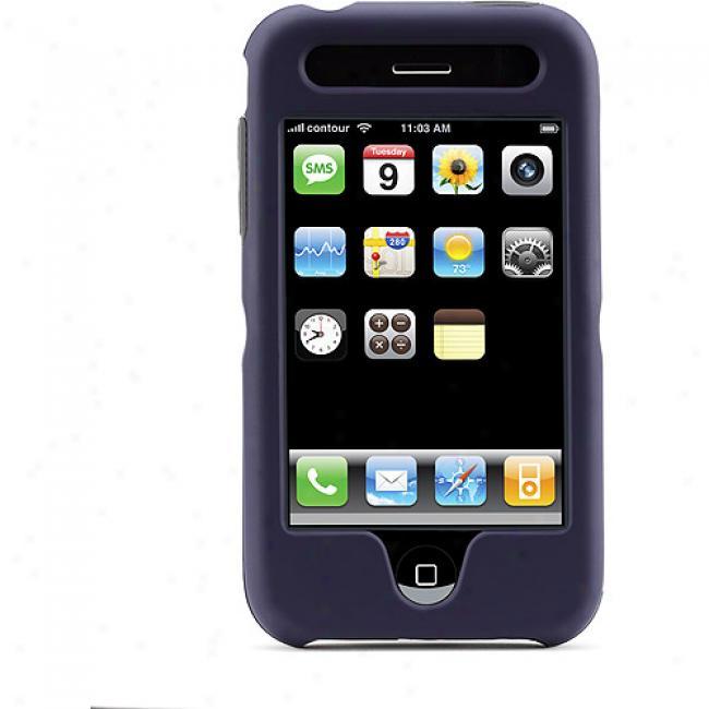 Contour Design Hardskin Case For Iphone 3g, Navy