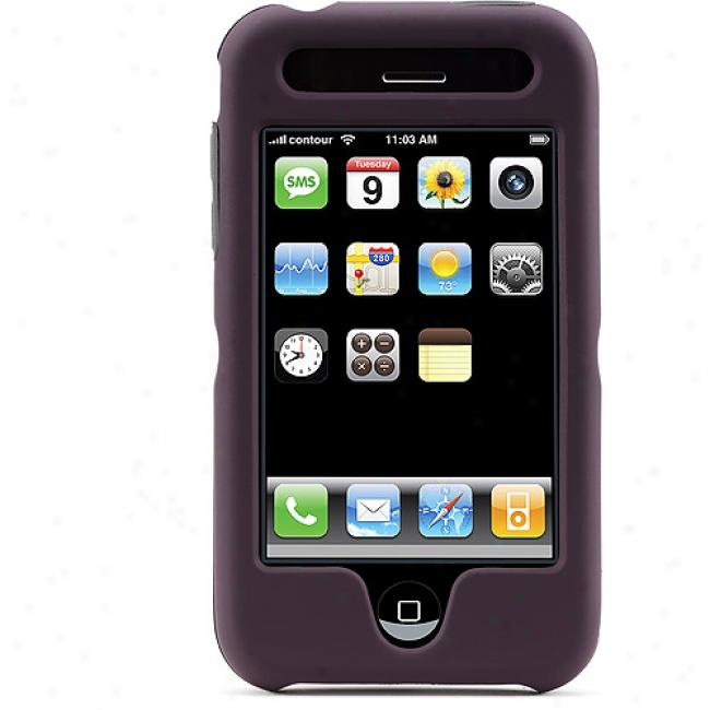 Cobtour Design Hardskin For Iphone, 3g Plum