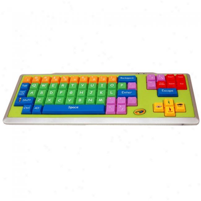 Crayola Kidz Ez Stamp Computer Keyboard
