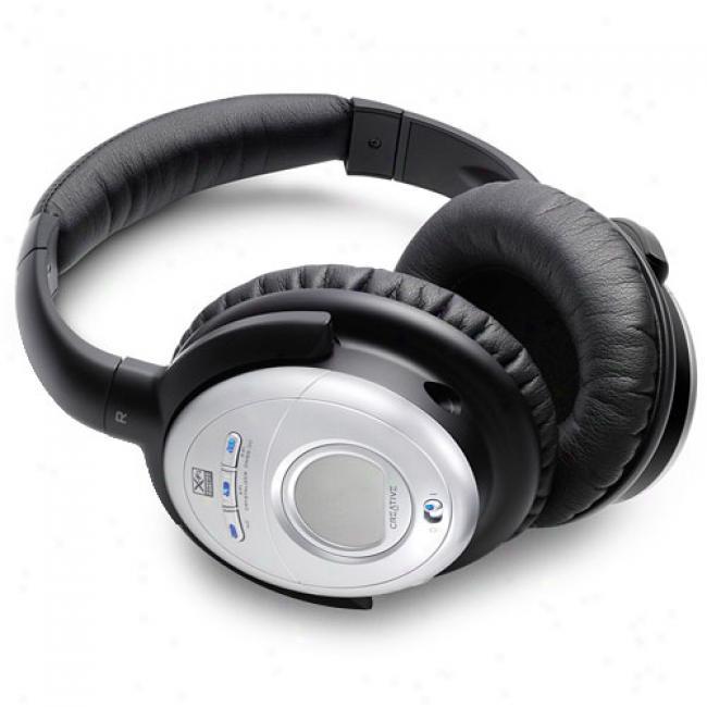 Creative Aurvana X-fi Noise Canceling Headphones
