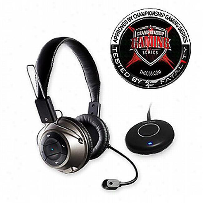 Creative Labs Hs-1200 Fatality Wireless Gaming Headset
