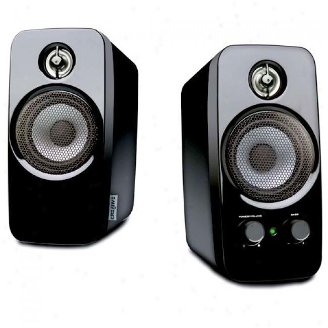 Creative Labs Inspire T10 Multimedia Pc Speakers, Pair