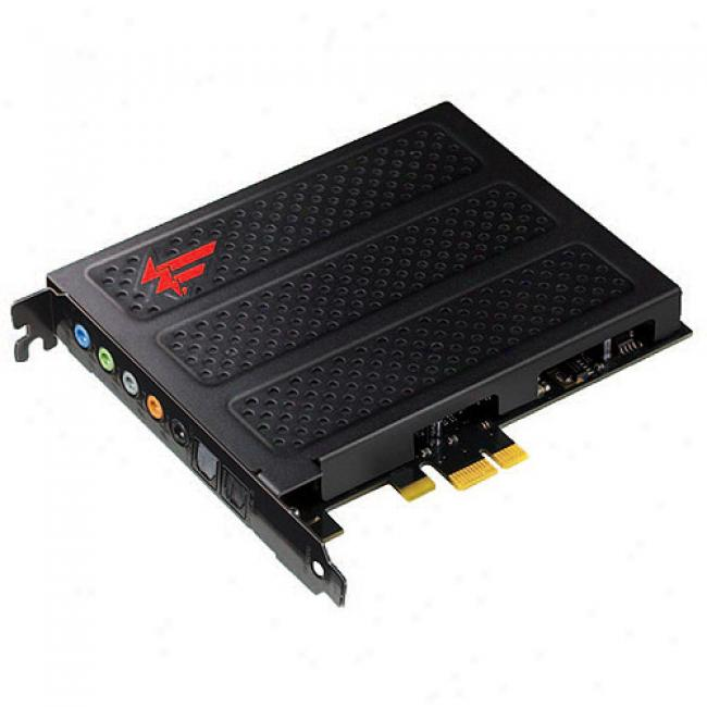 Creative Labs Pci Express Sound Blaster X-fi Titanium Fatal1ty Defender Series