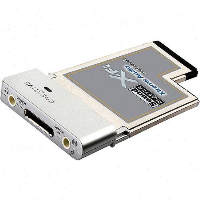 Creative Labs Sb0950 Sound Blaster X-fi Laptop Pc-express Sound Card
