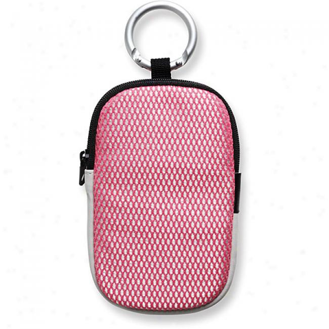 Creative Labs Vado Mesh Case For Pocket Video Camera, Pink