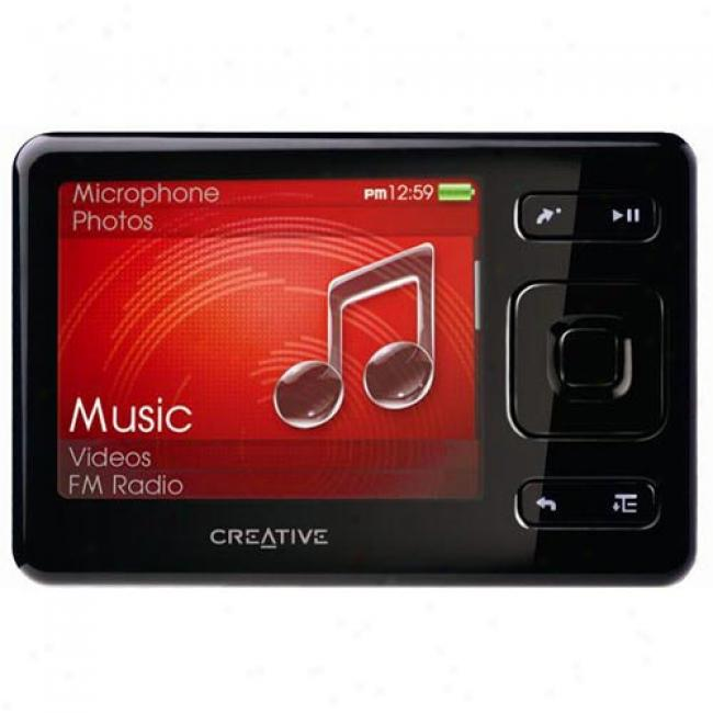 Creaitve Zen 2gb Mp3 Video Player, Black