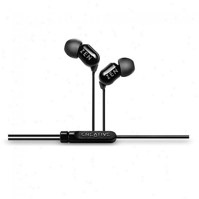 Creative Zen Aurvana In-ear Earphones, Black