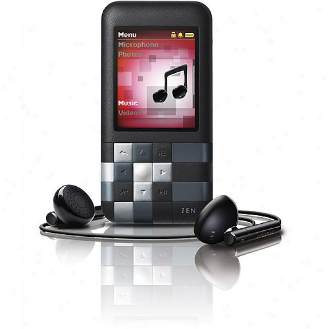 Creative Zen Mozaic 4gb Lx Mp3 Video Player, Blacl