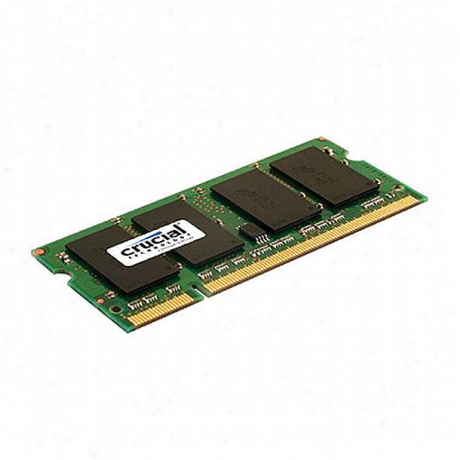 Crucial 1gb 200-pin Sodimm Ddr2 Pc2-5300