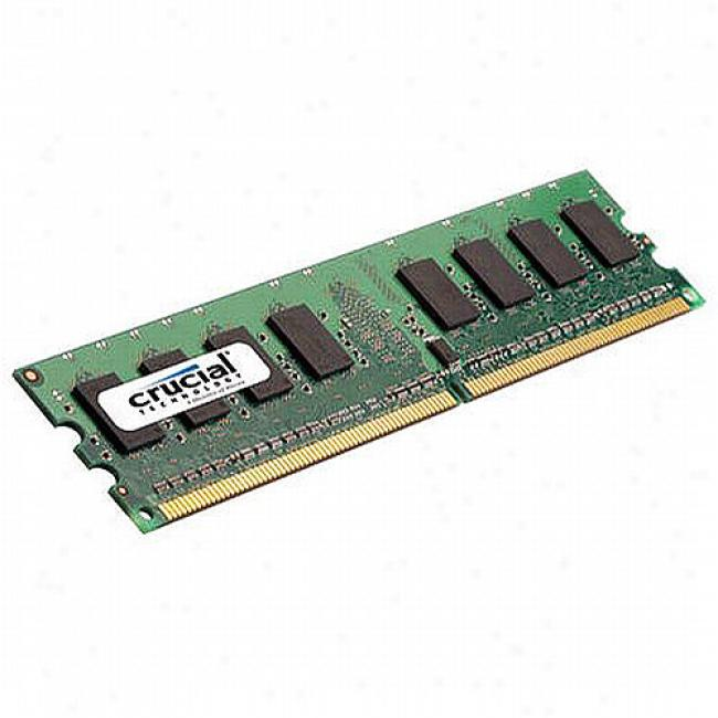 Crucial 1gb Ddr2 Pc5300 240 Pin Dimm