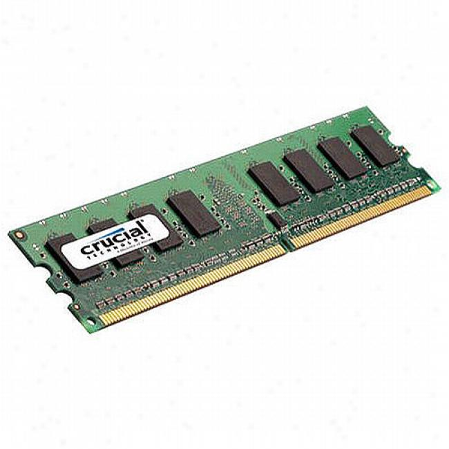Crucial 1gb Ddr2 Pc6400 240 Pin Dimm