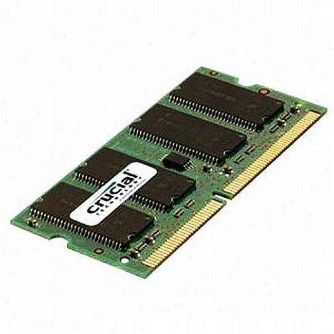 Crucial 512mb 200-pin Sodimmddr Pc2700