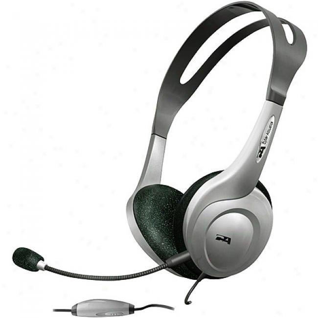 Cyber Acoustics Computer Stereo 3-in-1 Headset & Microphone