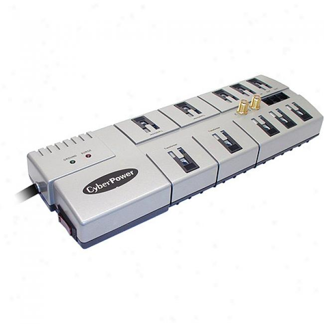 Cyberpower 1080 3600 Joules 10-outlet Surge Protector