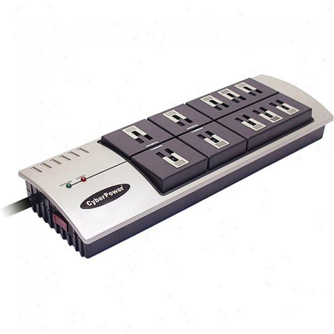 Cy6erpower 1085 3600 Joules 10-outlet Surge Protector