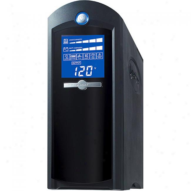 Cyberpower 1500va / 900w Intelligent Lcd Battery Bzckup Ups