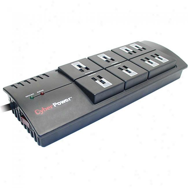 Cyberpower 2800 Joules 8 Oulet Surge Protector