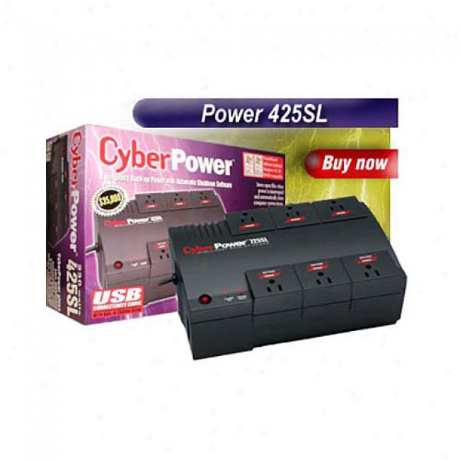 Cyberpower 425sl Computer Battery Back-up System