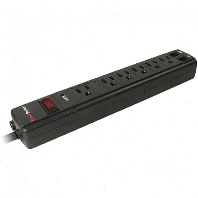 Cyberpower 6050 900 Joules 6-outlet Surge Protector