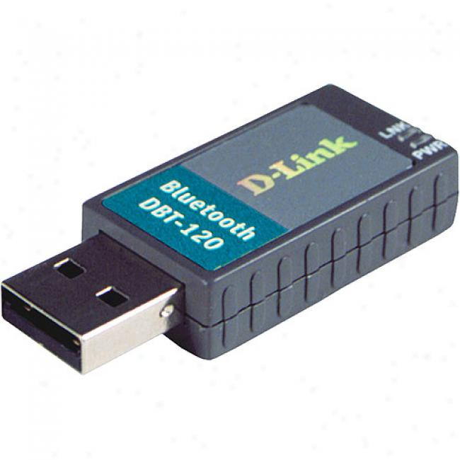 D-link Dbt-120 Wirdless Bluetooth Usb Adapter