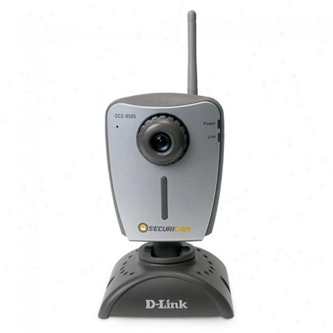 D-link Dcs-950g 802.11g Wireless Internet Camera