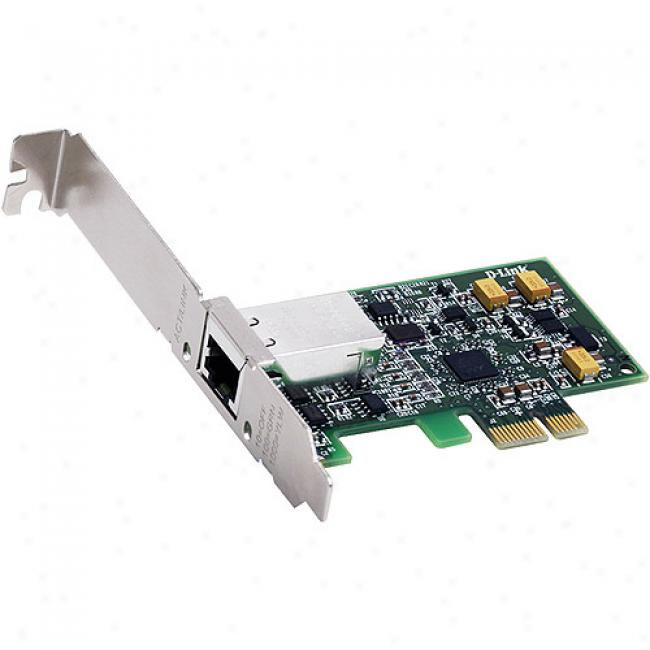 D-link Dge-560t 10/100/1000mbps Gigaexpress Pci-e Express Gigabit Desktop Adapter
