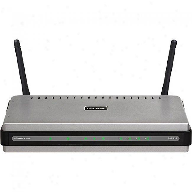 D-link Dir-625 Wireless-n Rangebooster N Broadband Router