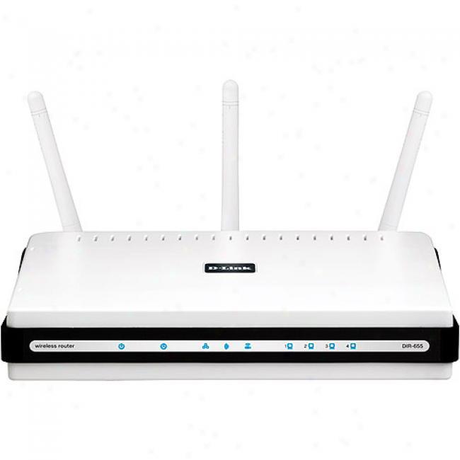 D-link Dir-655 Xtreme N Wireless-n Gigabit Broadband Router