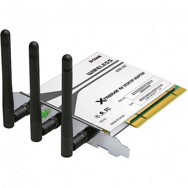 D-link Dwa552 Wireless-n Xtreme N Pci Desktop Card