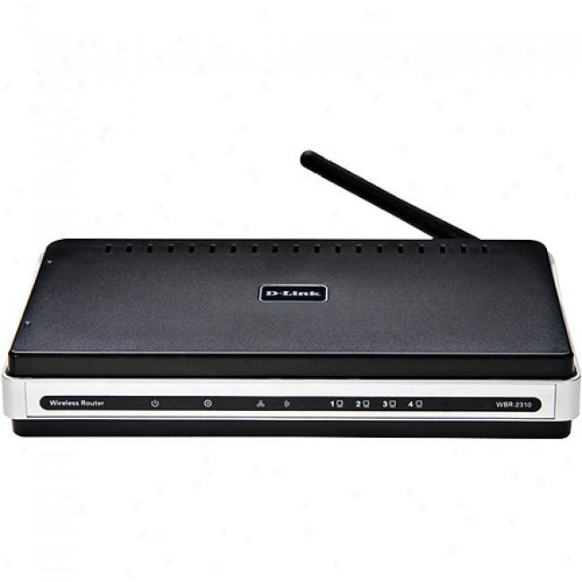 D-link Wbr-2310 Wireless-g 108mbps Rangebooster G Broadband Router