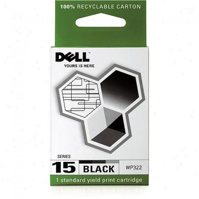 Dell 15 Standard Yield Black Cartridge