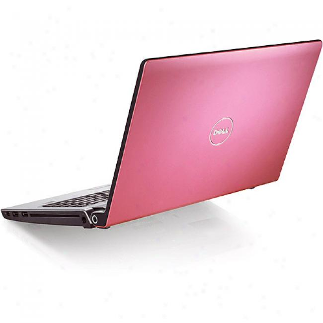 Dell 15.4'' Studio 15 Pink Laptop Pc W/ Amd Turion 64 X2 Dual-core Processor Rm-74