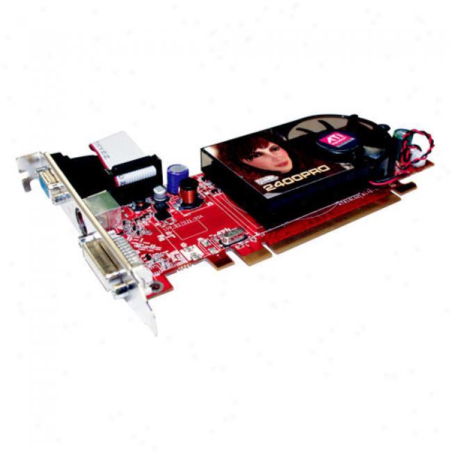 Diamond Ati Radeon Hd 2400pro Agp Graphics Card W/ 256mb, 2400pro256a