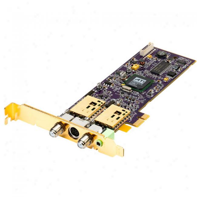 Diamond Tv Wonder Ati Hd 650 Pci Express Hybrid Tv Tuner