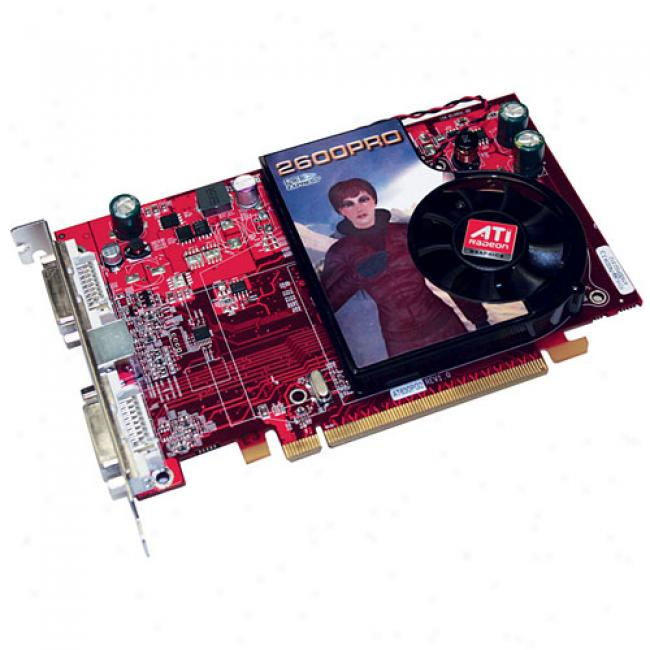 Diamond Viper Ati Radeon Hd 2600 256mb Gddr2 Pci-express Video Card