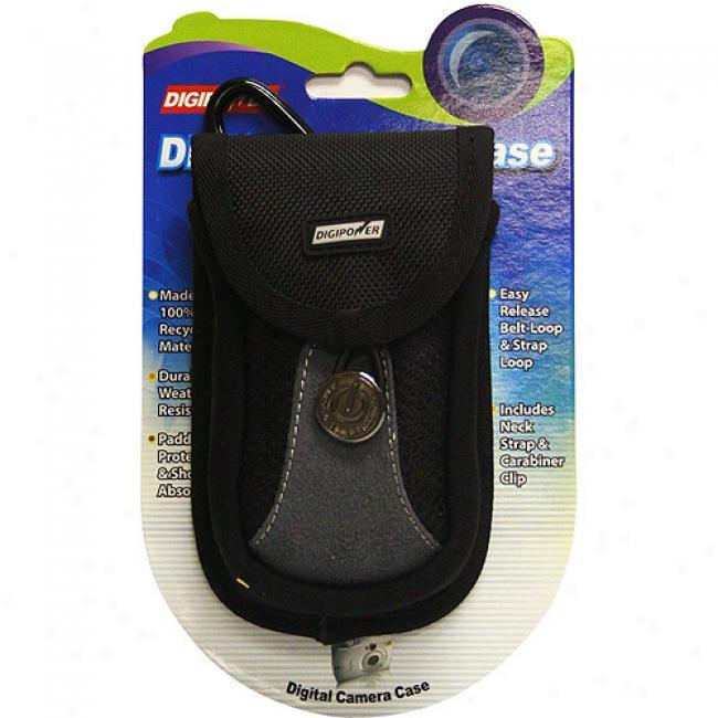 Digipower Dp-cmbk Medium Black Case For Digital Cameras