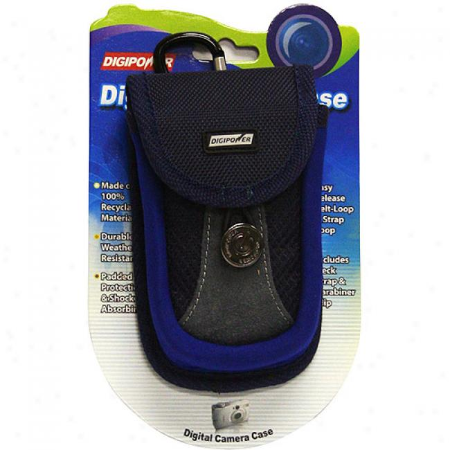 Digipower Dp-cmbl Medium Blue Declension-form For Digital Cameras