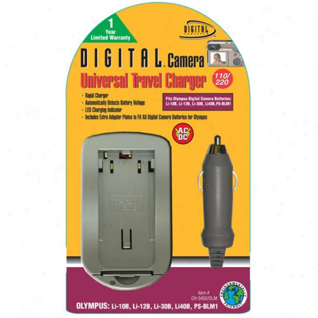 Digital Concepts Olympus Universal Digital Camera Battery Charger