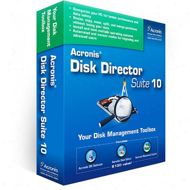 Disk Director Suite 10 (pc)